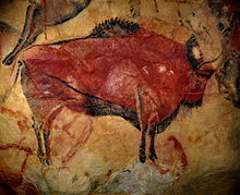 Weird Painting of a very big bithon in the cave of Altamira  Autor   Ramessos