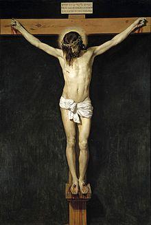 Cristo_crucificado Velazquez Convento de las Monjas de San Plácido de Madrid