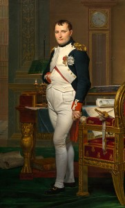 Jacques-Louis David, The Emperor Napoleon in His Study at the Tuileries, 1812, National Gallery of Art, Samuel H. Kress Collection