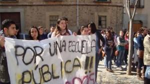 manifestacio_estudiants_segovia_www.teinteresa.es/castilla-y-leon/segovia